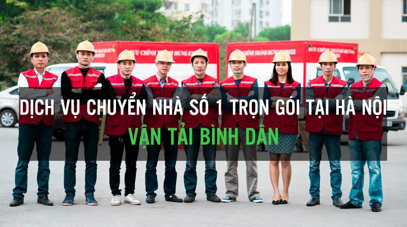 dịch vụ chuyển nhà trọn gói số 1 Hà Nội