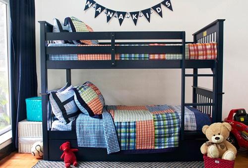Chọn giường tầng cho bé trai có thiết kế an toàn