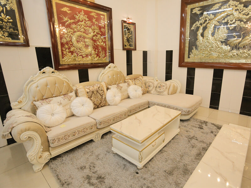 Ưu điểm của sofa tân cổ điển cũ