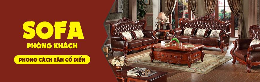 Vây có nên mua sofa tân cổ điển cũ cho gia đình hay không