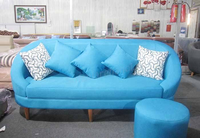 Ghế sofa văng nỉ phong khách đơn giản