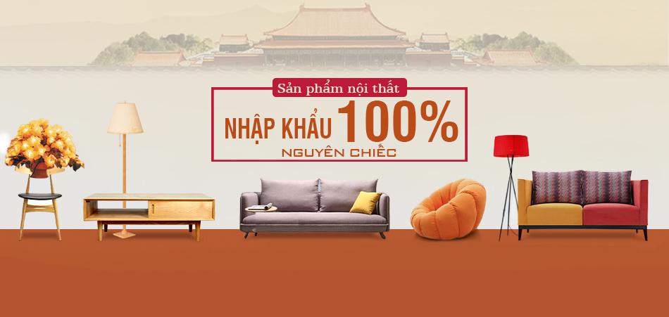 Mẫu sofa văng nỉ nhập khẩu 100%