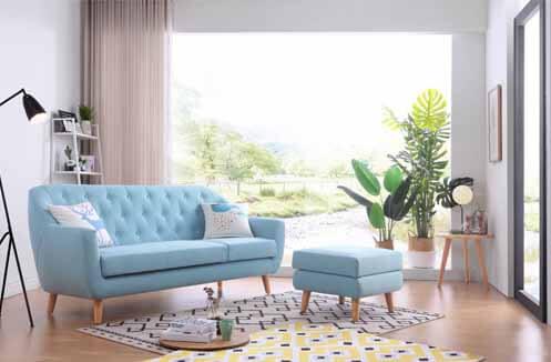 Nhu cầu sử dụng mẫu sofa văng nỉ giá rẻ tại Hà Nội